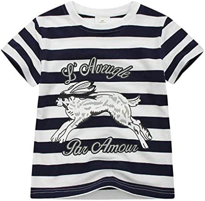 Boys Summer Outfits Short Sleeve T-Shirt /& Shorts Sets Playwear Clothes 2 Piece 2-7Y