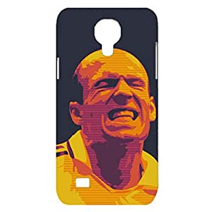 Classic Chelsea FC Design Chelsea Football Club Mobile Cover Fashion Back Case 3D Cover Snap on Samsung Galaxy S4 Mini with Handsome Arjen Robben Print