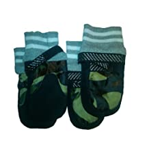 Pet Life Performance Adjustable Pet Dog Boots Shoes, Camouflage, One Size Fits All