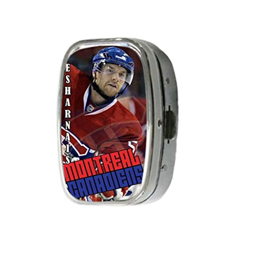 Tree Bay DIY Custom Fashion Montreal Canadiens David Desharnais Pill Box Medicine Tablet Holder Organizer Case for Pocket Or Purse