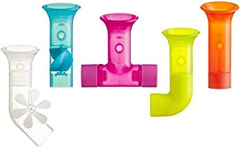 Set of 5 Boon Building Bath Pipes Toys