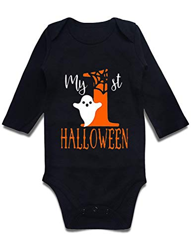 BFUSTYLE My 1st Halloween Print Baby Onesie Black 3 M for $<!--$11.98-->