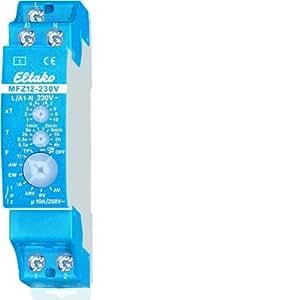 Eltako MFZ12-230V - Relé de tiempo analógico multifunción