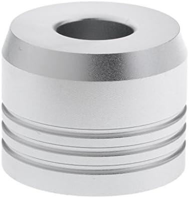 カミソリスタンド スタンド シェービング カミソリホルダー ベース サポート 調節可 乾燥 2色選べ - 銀