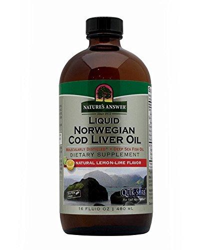 Natures Answer Liver - Nature's Answer Cod Liver Oil, 16-Fluid Ounces