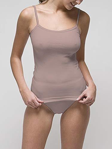 f675fbd156c5 RAPIFE Camiseta Interior Tirante Fino Mujer Talla 64-XXL: Amazon.es: Ropa y  accesorios