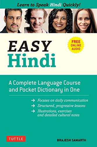 Easy Hindi: A Complete Language Course and Pocket Dictionary in One (Companion Online Audio, Dictionary and Manga includ