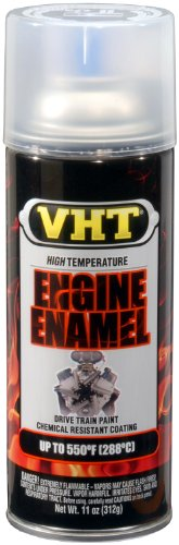 Paint High Temp Enamel Gloss (VHT ESP145007 Engine Enamel Gloss Clear Can - 11 oz.)