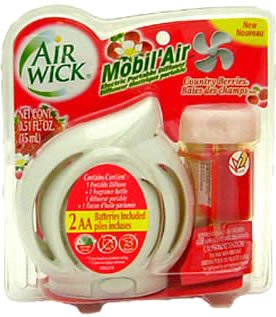 Air Wick Mobil' Air Electric Portable Diffuser, Country Berries , 1 each