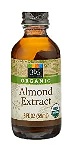 365 Everyday Value, Organic Almond Extract, 2 fl oz