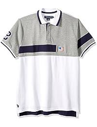 Men's Short Sleeve Classic Fit Fancy Pique Shirt