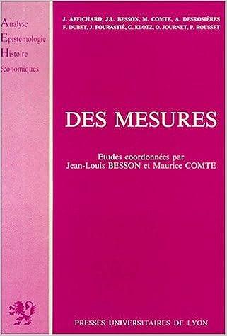 Des mesures epub pdf