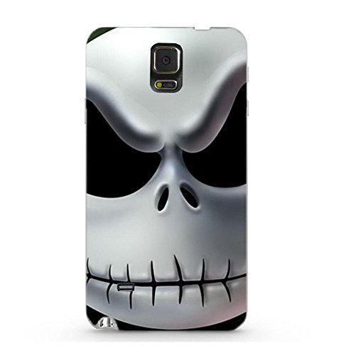 [Caitin Jack Nightmare Before Christmas Case Cover Protective Shell for Samsung Galaxy Note 4] (Couples Scary Costumes)