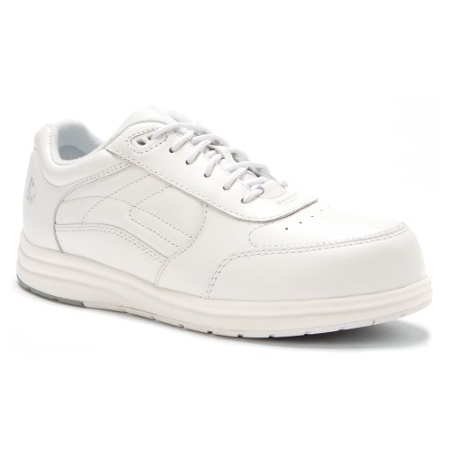 P.W. Minor Women's Performance Walker Dx2 Lace-Up Flat,White Glove,7 2W US Minor Womens Performance Walker
