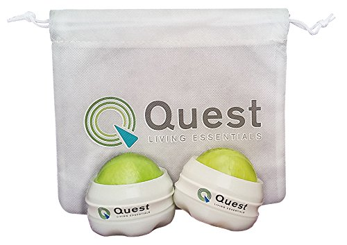 2-quest-living-essentials-massage-roller-balls-and-drawstring-bag