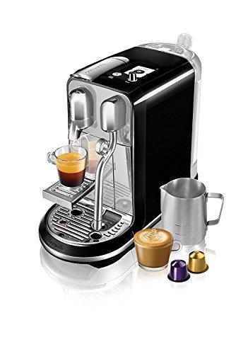 Brand New - Breville BNE600SLQUSC Nespresso Creatista Espresso and Coffeemaker - Black Color by Breville_BNE600SLQUSC (Image #3)