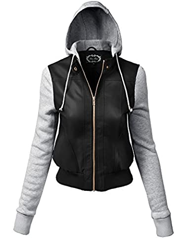 Plus Size Comfortable Junior Sizing Fleece Hoodie Jackets (Fitted Jacket Juniors)