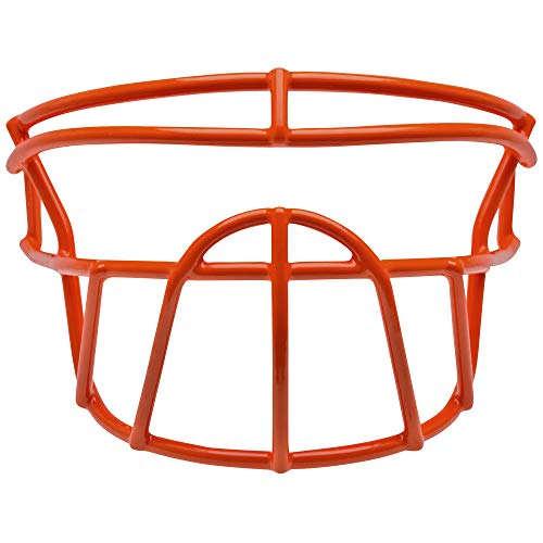 Schutt Sports Carbon Steel DNA-BDROPO Youth Football Faceguard, Burnt Orange