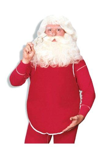 Rubie's Stuffed Santa Belly Accessory, Red, One Size (Santa Belly)
