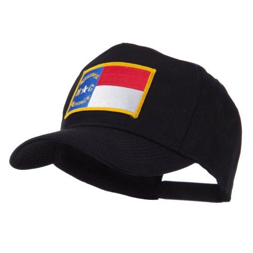 USA Eastern State Embroidered Patch Cap - North Carolina (North Carolina State Seal)