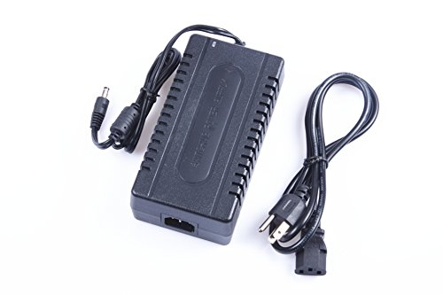 KNACRO AC 110~240V to DC 24V 6A 6.3A Power Supply Adapter Transformers 150W Interface 5.5x2.5mm Suitable for set-top boxes, game consoles, LCD monitors, LED light boxes signs