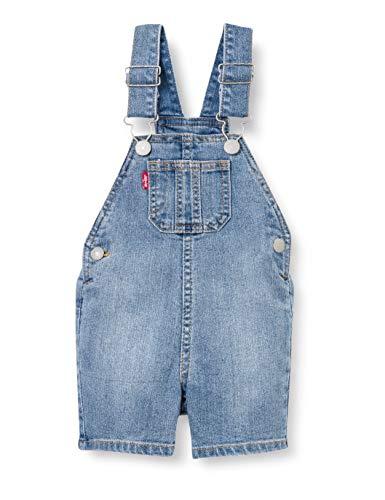 Levi's Kids Tuinbroek voor baby's en jongens, denim shorts
