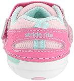 Stride Rite Girls' SM Adrian Sneaker, Light Pink, 6 XW US Toddler
