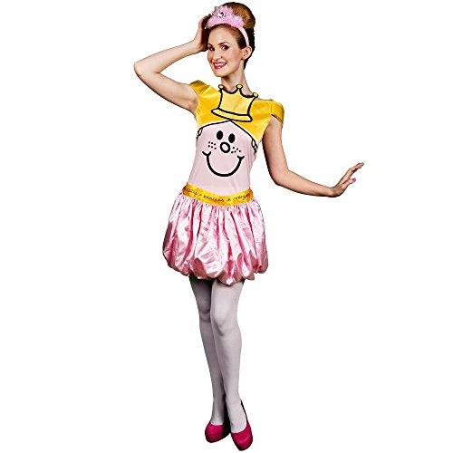 [Medium Ladies Little Miss Princess Costume] (Little Miss Princess Costume)