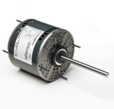Marathon X012 48Y Frame Open Air Over 48A17O2006 Condenser Fan Motor 1/4 hp, 1625 rpm, 208-230 VAC, 1 Phase, 1 Speed, Ball Bearing, Permanent Split Capacitor, Thru-Bolt (Over Fan Condenser Air Open)
