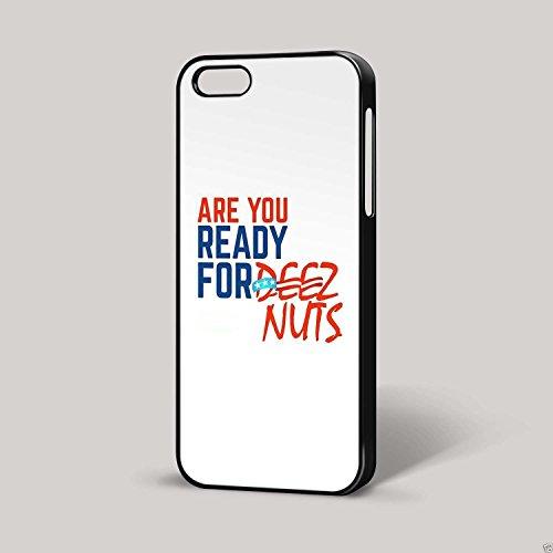 DEEZ Écrous Design 3Youtube Funny Président américain pour iPhone iPhone 6Coque (Noir)