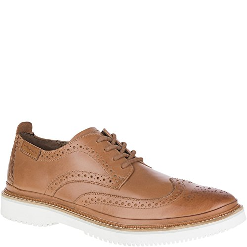 Hush Puppies Samme Bernard Pelle Marrone