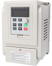 AC 220V 1.5KW Variable Frequency Drive VFD Speed Controller for 3 Phase Motor Variable Frequency Drive for Spindle Motor Speed Control