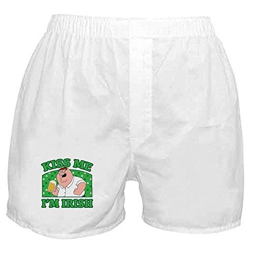 CafePress - Family Guy Kiss Me - Novelty Boxer Shorts, Funny Underwear White