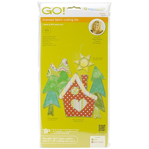 AccuQuilt Go! It Fits! Fabric Cutting Dies: Home