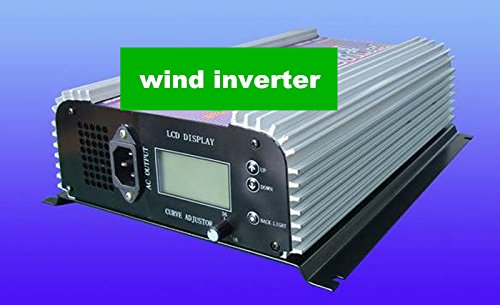 GOWE 1000W/1KW wind grid tie inverter (AC 3phase input )+dump load resister+dump load connection +LCD display