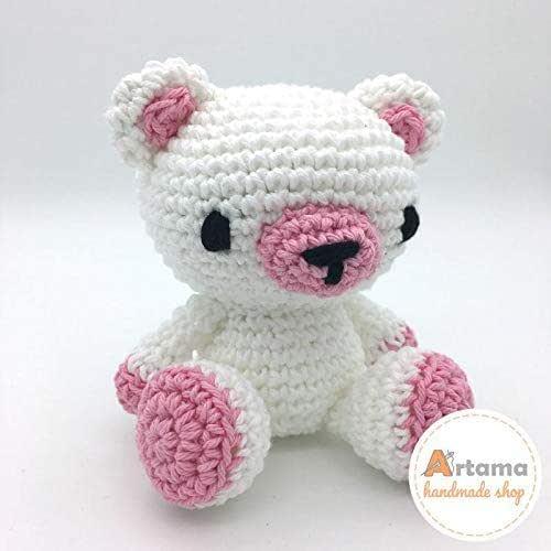 Mr. Sweet - Rosa - Amigurumi - Muñeco de peluche - Tejido