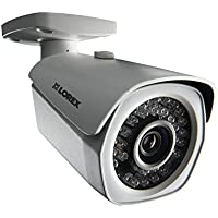 Lorex LNB3143RB High Definition 1080p 2MP Bullet Weatherproof Night Vision Security Camera (White)