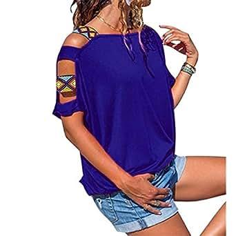 Energy Women Premium Tees Cozy Pure Color Plus-size Top T-shirt Blouse AS1 S