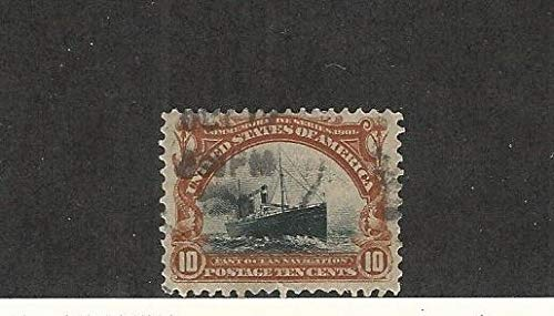 United States, Postage Stamp, 299 Used, 1901 Ship Beautiful Stamp