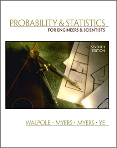 Amazon probability and statistics for engineers and scientists amazon probability and statistics for engineers and scientists 7th edition 9780130415295 ronald e walpole raymond h myers sharon l myers fandeluxe Images