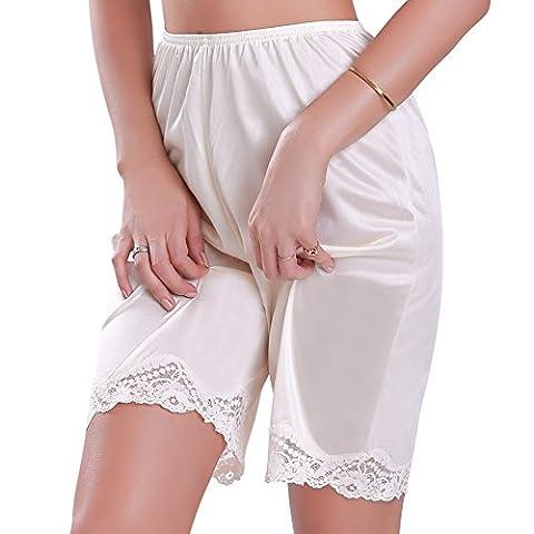 Women's Slip Shorts 2XLarge Beige