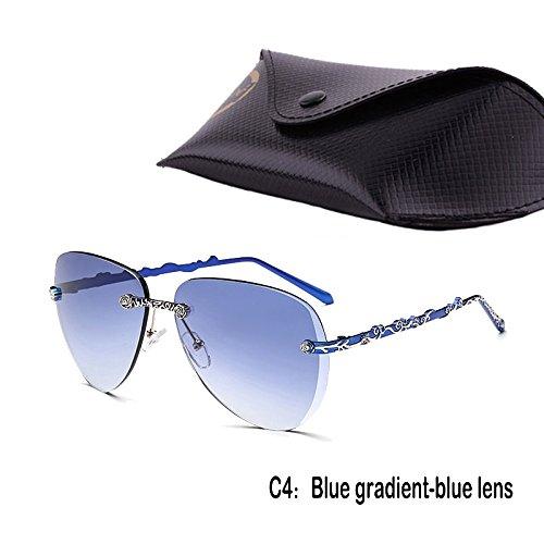 Sol 937C4 Mujer De De Uv400 Gafas Anteojos Pizzo TIANLIANG04 Sol Lujo De De Gafas Gradiente Femenino Multi qZt7ZcnE4