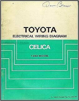 1983 toyota celica supra wiring diagram manual original: toyota:  amazon com: books