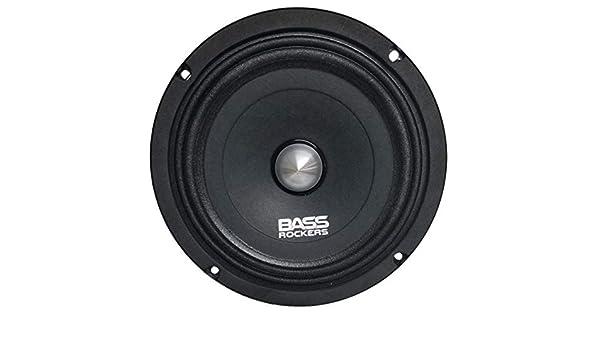 Bass Rockers BR8S-NDY 8 Slim High Performance Neodymium Midrange Speaker 225W