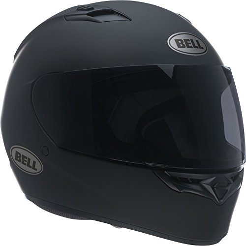 - Bell Qualifier Full-Face Motorcycle Helmet (Solid Matte Black, Medium)