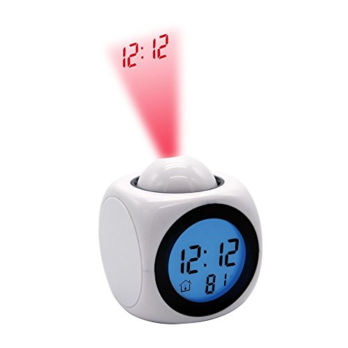 Digital Clock Display On Ceiling