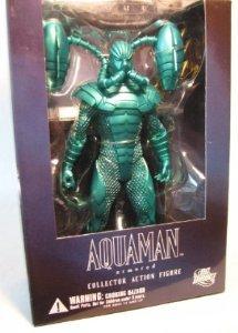 DC Direct Alex Ross Justice Aquaman Figure - (Armored) Justice League Series 7 ()