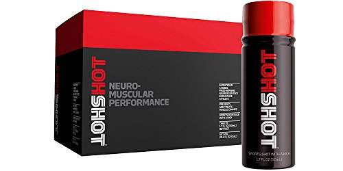 HOTSHOT, 12PK, Prevent and Treat Muscle Cramps, 1.7oz Bottles