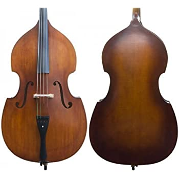rata beginner upright string double bass 4 4 full size for students teens adults. Black Bedroom Furniture Sets. Home Design Ideas