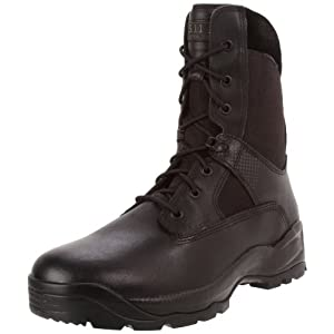 5.11 Tactical ATAC Men's 8″ Leather Jungle Combat Military Coyote Boots, Style 12110